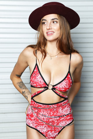 Bandana Bra by East N West Label - FINAL SALE