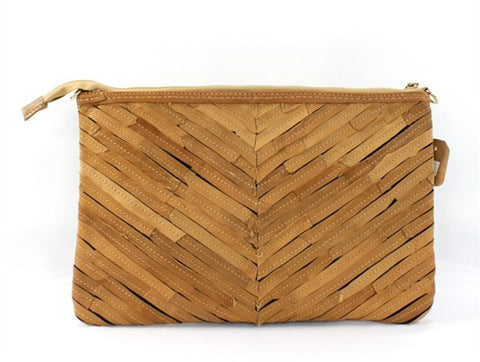 Alia Leather Clutch