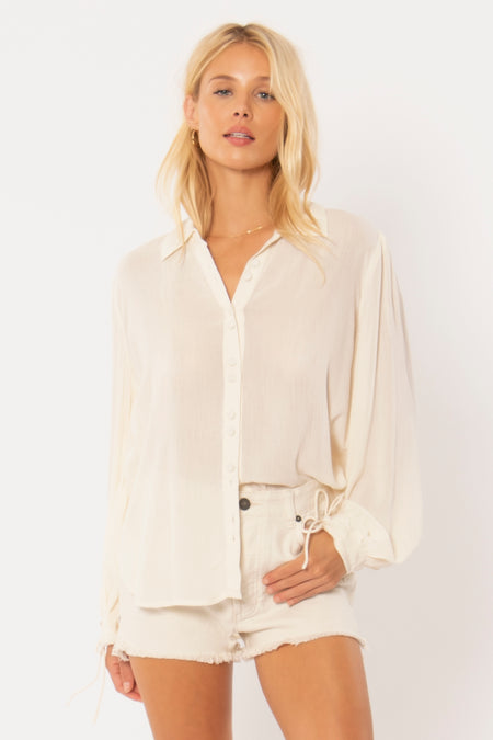 Tesoro Woven Top by Amuse Society - FINAL SALE