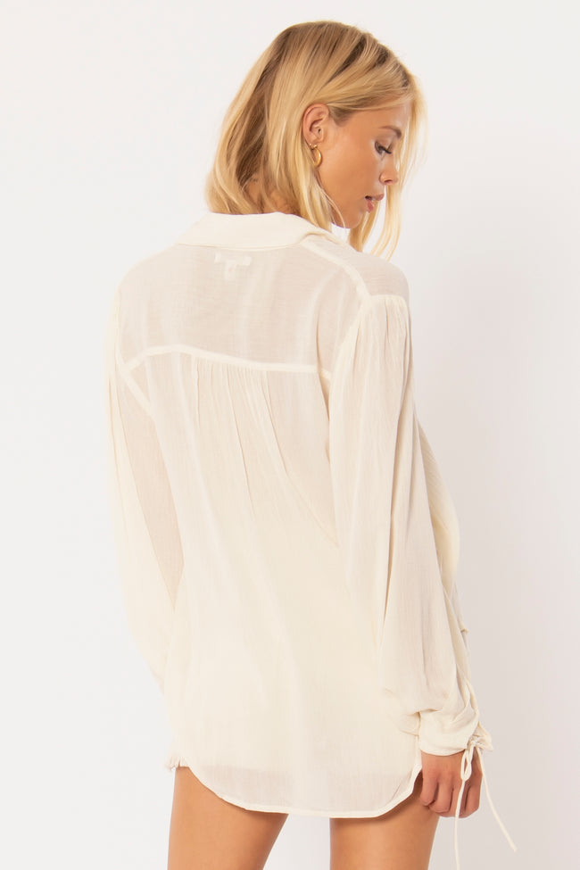 Caravan Woven Top by Amuse Society