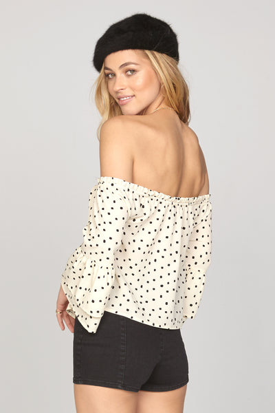 Chapelle Woven Top by Amuse Society - FINAL SALE