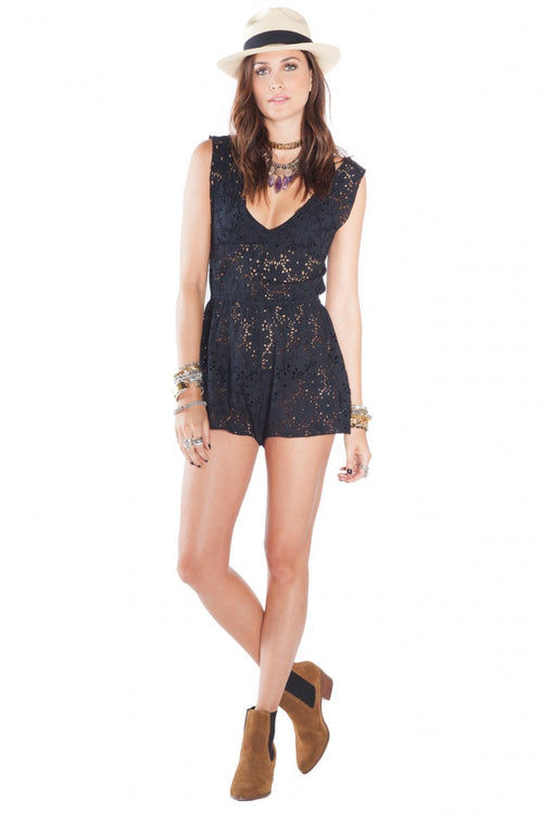 Collette Romper By Amuse Society - FINAL SALE