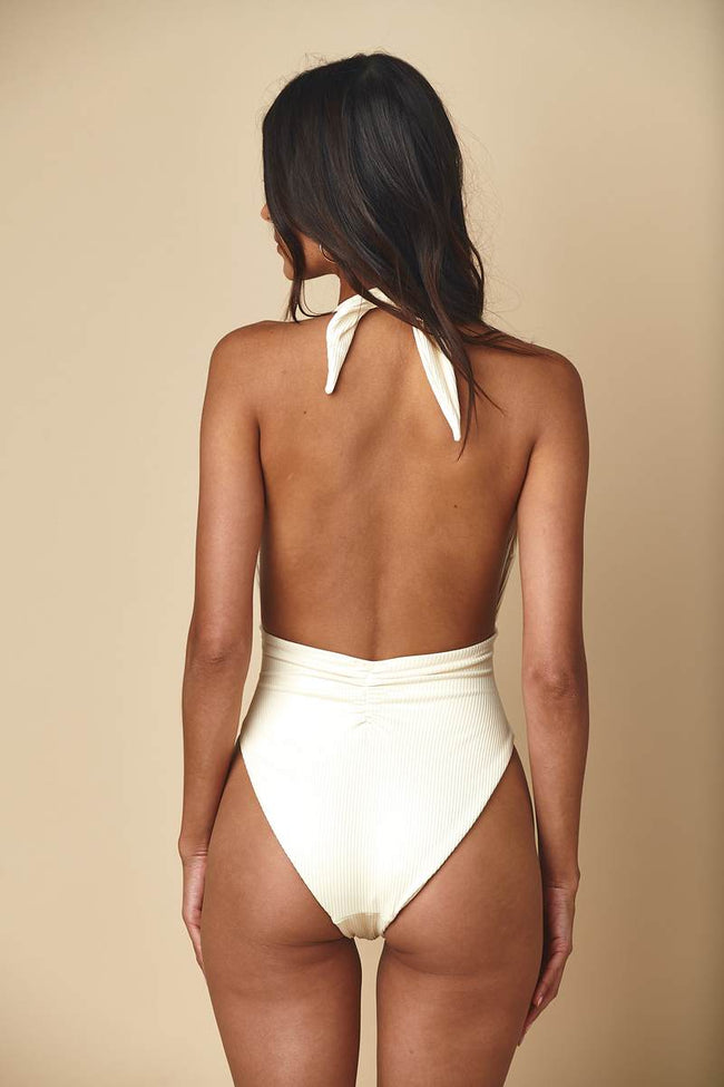 Tropez Tie-Up One-Piece by Montce Swim