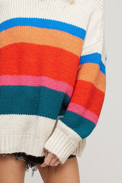 Finish Line Sweater - FINAL SALE