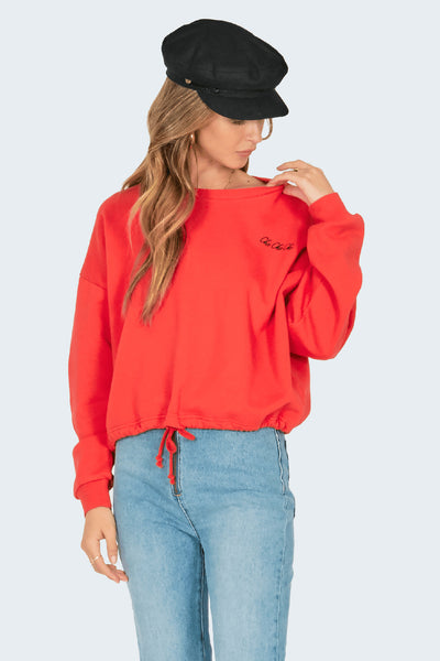 El Campo Fleece Sweatshirt by Amuse Society