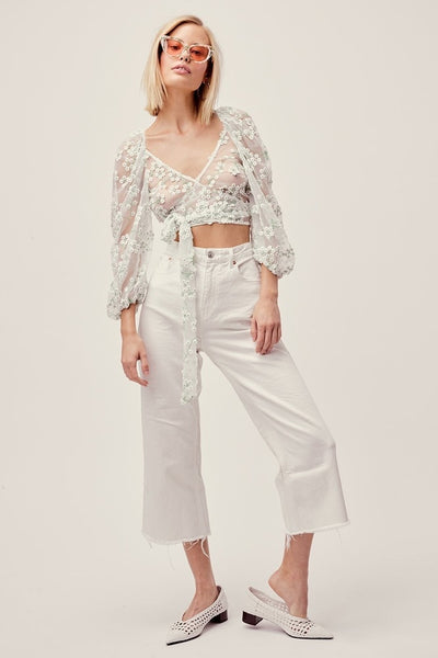 Eclair Top by For Love & Lemons