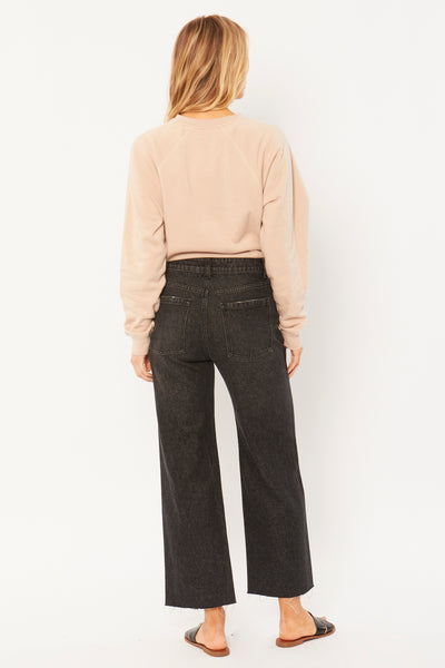 Gabi Crop Flare Denim Pant by Amuse Society