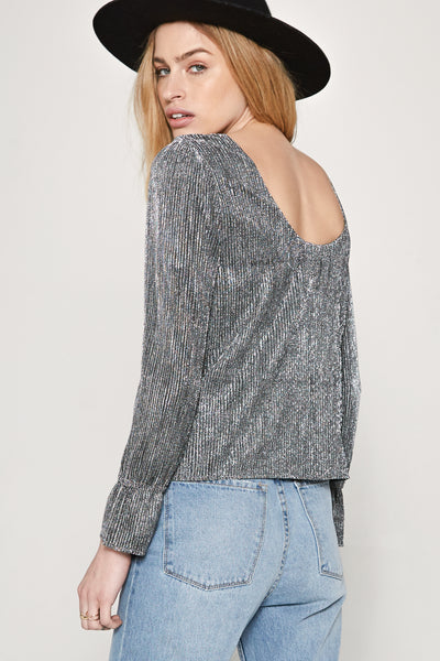 Glimmer Knit Top by Amuse Society - FINAL SALE