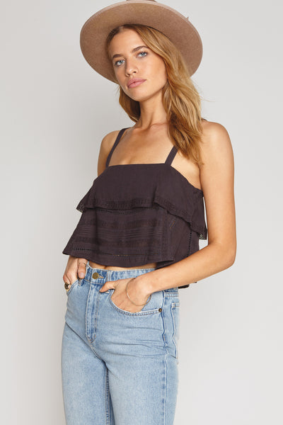 Hayes Woven Cami Top by Amuse Society - FINAL SALE
