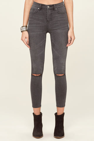 Iconic High Waist Skinny Pant by Amuse Society