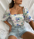 At First Sight Crop Top - FINAL SALE