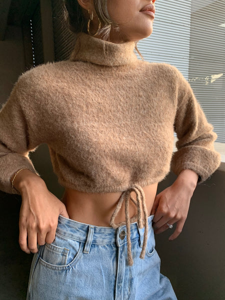 Éclair Crop Sweater