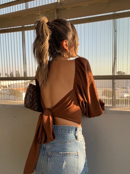 Rooftop Sunsets Crop Top