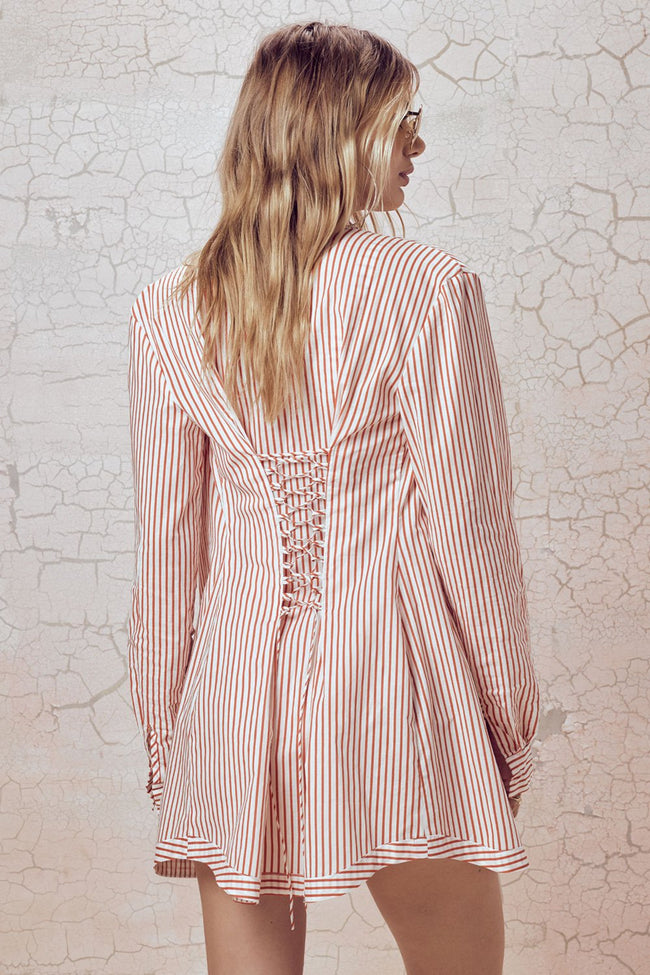 Isla Lace Up Shirt by For Love & Lemons - FINAL SALE