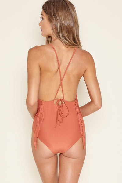 Kai Fringe One Piece by Amuse Society - FINAL SALE