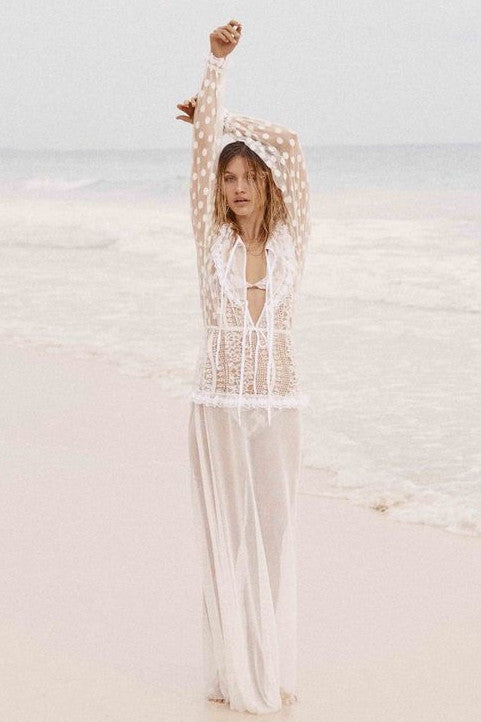Trinidad Maxi Cover Up by For Love & Lemons