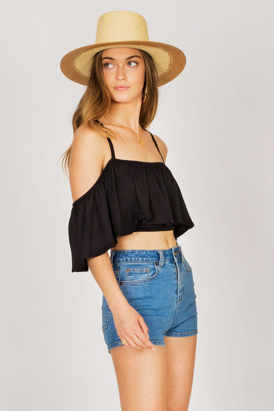 Life's A Frill Knit Top by Amuse Society