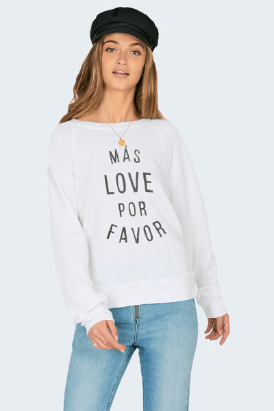 Mas Love Por Favor Fleece by Amuse Society