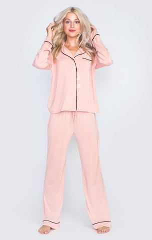 From Me to You Classic PJ Jacket Set by Wildfox - FINAL SALE