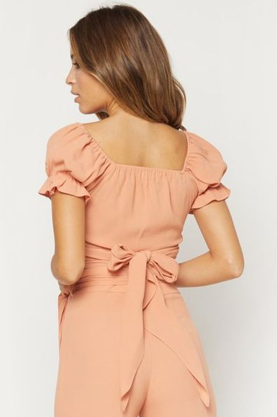Annabelle Wrap Top by Flynn Skye