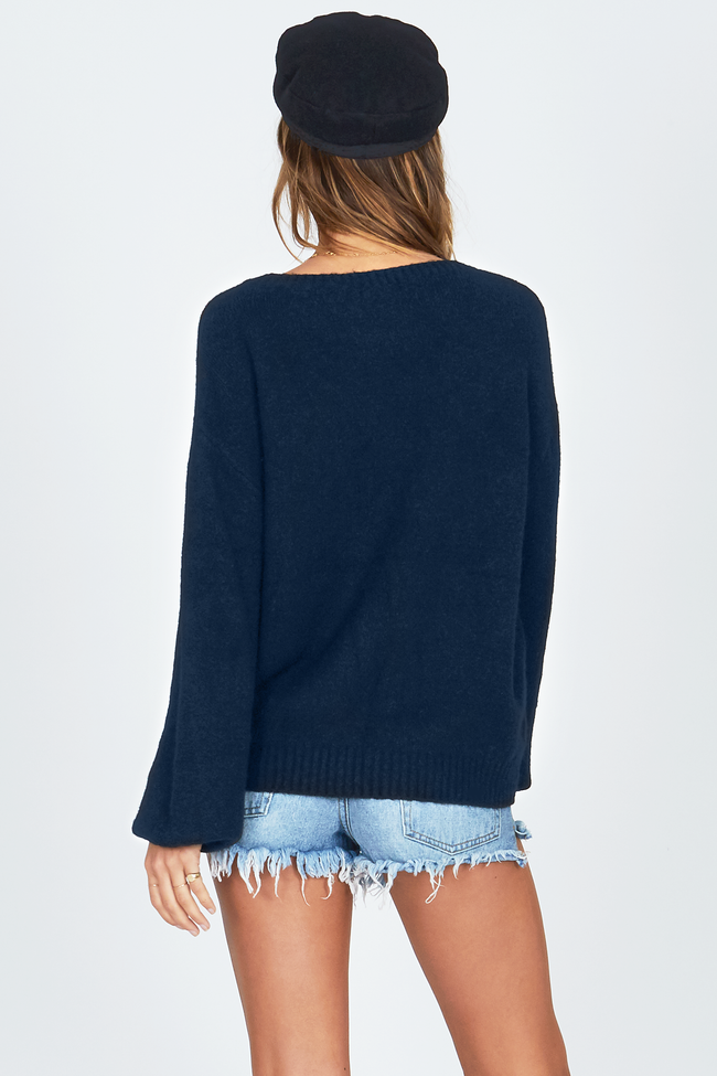 Rooftop View Sweater by Amuse Society