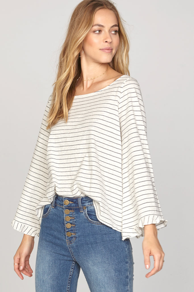 Seascape Knit Top by Amuse Society