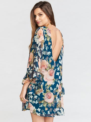 Boomerang Low Back Dress by Show Me Your Mumu - FINAL SALE