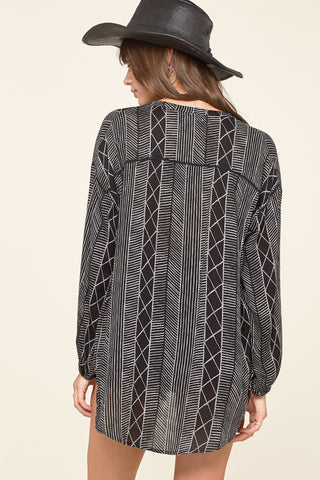 Spellbound Woven Top by Amuse Society