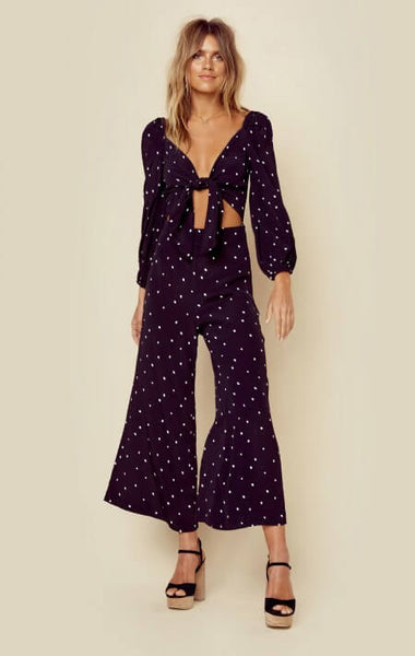 Isabel Tie Jumpsuit by Blue Life - FINAL SALE