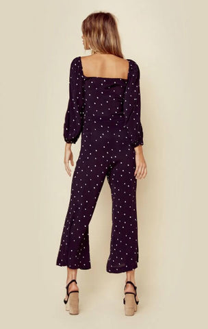 Isabel Tie Jumpsuit by Blue Life