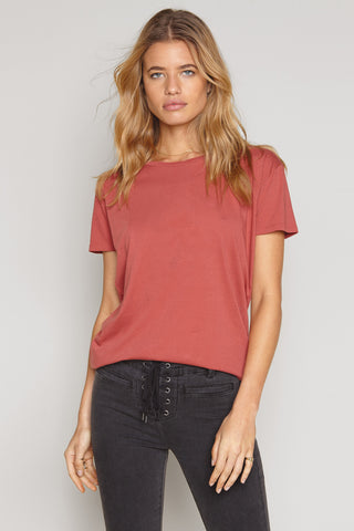 Tanner Solid Boyfriend Tee by Amuse Society