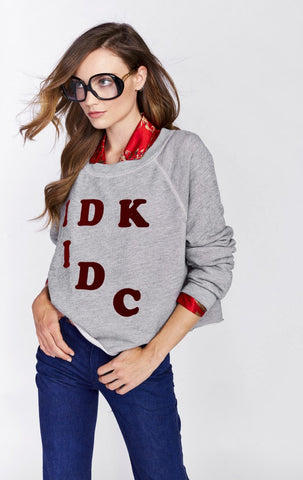 IDK-IDC Monte Crop by Wildfox - FINAL SALE