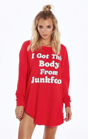Junk Food Body Tuscany Tunic by Wildfox - FINAL SALE