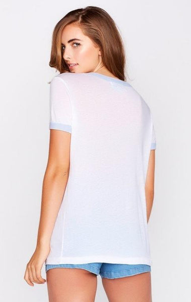 High Vintage Ringer Tee by Wildfox - FINAL SALE