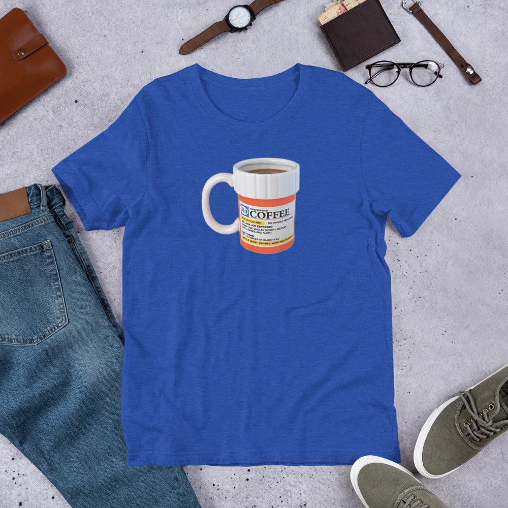 Prescription Coffee Short-Sleeve Unisex T-Shirt