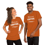 Weekends, Coffee, & Pit bulls Short-Sleeve Unisex T-Shirt - Aroma Mocha Coffee AZ