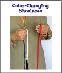 Color-Changing Shoelaces