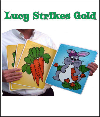 The NEW Lucy Strikes Gold