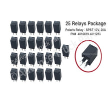 Load image into Gallery viewer, 25 pcs Polaris Relay - SPST 12V, 20A Polaris PN# 4016819 4011283