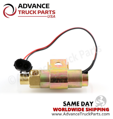 Advance Truck Parts 1689785C91 Air Solenoid Valve with Diode for International Trucks-Horn