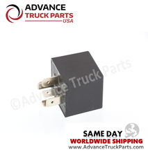 Load image into Gallery viewer, Advance Truck Parts ( 2 pcs) 06-39201-001 Freightliner Kenworth Navistar 5 Pin Relay