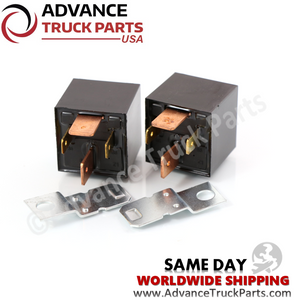 Advance Truck Parts  VF7-41F11Z08  2 Pcs 12V (Volt) 4 Pin 70A (Amp) Replacement