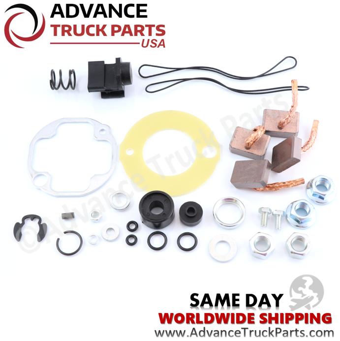 Advance Truck Parts Delco Remy Starter Rebuilt Kit for 39MT