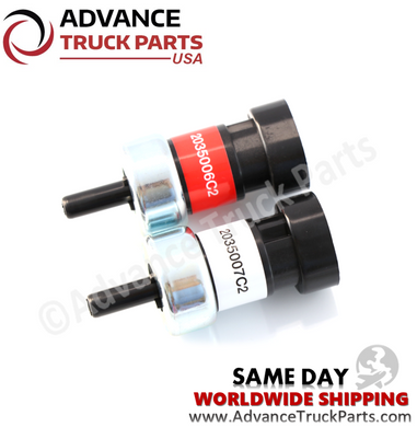 Advance Truck Parts 2035006C2 2035007C2 Air Brake Switch Set For Navistar-International Replaces