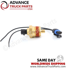 Load image into Gallery viewer, Advance Truck Parts 23515251 Detroit Coolant Temperature Sensor Series 60 with Pigtail