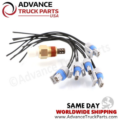 Advance Truck Parts 25036751 (5 pcs) GM Air Temperature Sensor with Pigtail Connector