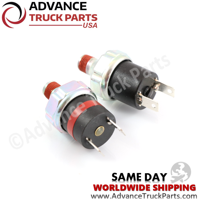 Advance Truck Parts Air Pressure Switch kit for Freightliner FSC 2749-2108 1749-1907