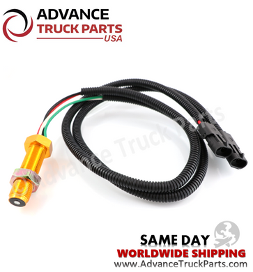 Advance Truck Parts 1658556C91 International Speed Sensor dual connectors