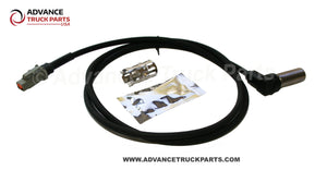 "Advance Truck Parts | Right Angle ABS Sensor Kit | 50"" Cable Length 