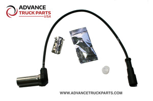 "Advance Truck Parts | Right Angle ABS Speed Sensor Kit | 15"" Cable Length 